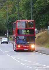 SLN 18208 - LX04FWU - WATLING STREET BEXLEYHEATH - SAT 11TH AUG 2018 (Bexleybus) Tags: stagecoach london 18208 lx04fwu tfl route 96 watling street bexleyheath adl dennis trident alx400 alexander kent