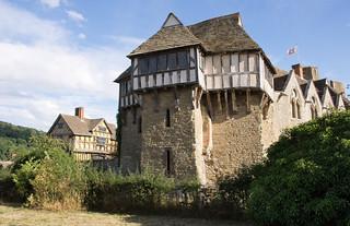 Stokesay castle 01 aug 18