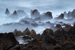 Erosion (mntkondr) Tags: japan miyagi kesennuma erosion sea landscape nature wave longexposure fujifilm xh1