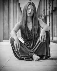 (Magdalena Roeseler) Tags: erste wahl woman portrait freckels sommersprossen sw bw monochrome girl beautiful olympus