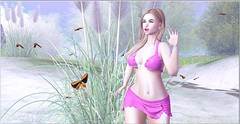 wellmade 7ds post ps (Moni Carissa) Tags: 7deadlyskins wellmade elsie outfit texas ebento event skirt top beach sexy blonde doux joanne lush poses of course we love to blog wltb fable 3