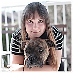 Best Friends (stephaneblaisphoto) Tags: people portrait friendship animal animals dog dogs boxer color