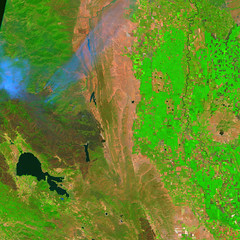 Mendocino Complex, 13 August 2018, variant (sjrankin) Tags: 16august2018 edited sentinel2 california northerncalifornia smoke fires wildfires l1ct10seja01641220180813t185918 centralvalley coastrange marysvillebuttes fire clearlake mendocinocomplex ranchfire riverfire burnscar esa europeanspaceagency large 2020mb