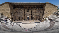 Théâtre antique d'Orange (Peter Jaspers (sorry less time to comment)) Tags: frompeterj© 2018 olympus zuiko omd em10 918mm orange theatreantiquedorange romantheatre unesco worldheritage provence paca vaucluse history histoire roman romain widescreen 169