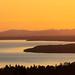 Lake Siljan from Plintsberg, July 2, 2018