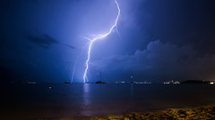 Thunderstorm on Koh Samui / Гроза на Самуи (Nitohap) Tags: гроза молния корабль море ночь дождь пейзаж гром thunderstorm lightning ship sea night rain landscape thunder самуи kohsamui таиланд thailand небо d850 tamron1530 magicmoments