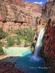 2018-04-12 Havasu Falls Grand Canyon (Kalaman Travel) Tags: supai grandcanyon havasu havasufalls mooneyfalls navajofalls falls navajo mooney havasupai