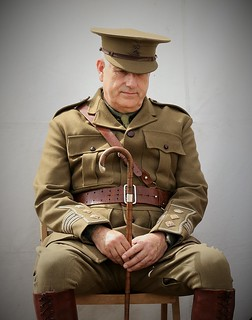 Living History....ww1 British Officer