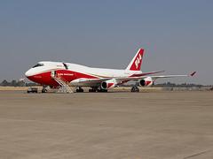Boeing 747-446 N744ST (JimLeslie33) Tags: n744st boeing 747 747446 tanker 944 mcclellan airport