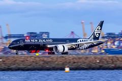 Allblacks Dreamliner (Tom Marschall) Tags: zknze boeing 787 dreamliner 7879 nz air new zealand travel sydney syd yssy akl plane aeroplane