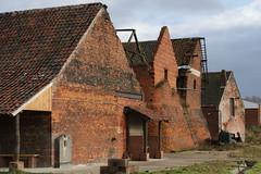 Achterkant fabriek / Backside Mill (jo.misere) Tags: stenen bricks mill fabriek museum boom 10 jaar yeares