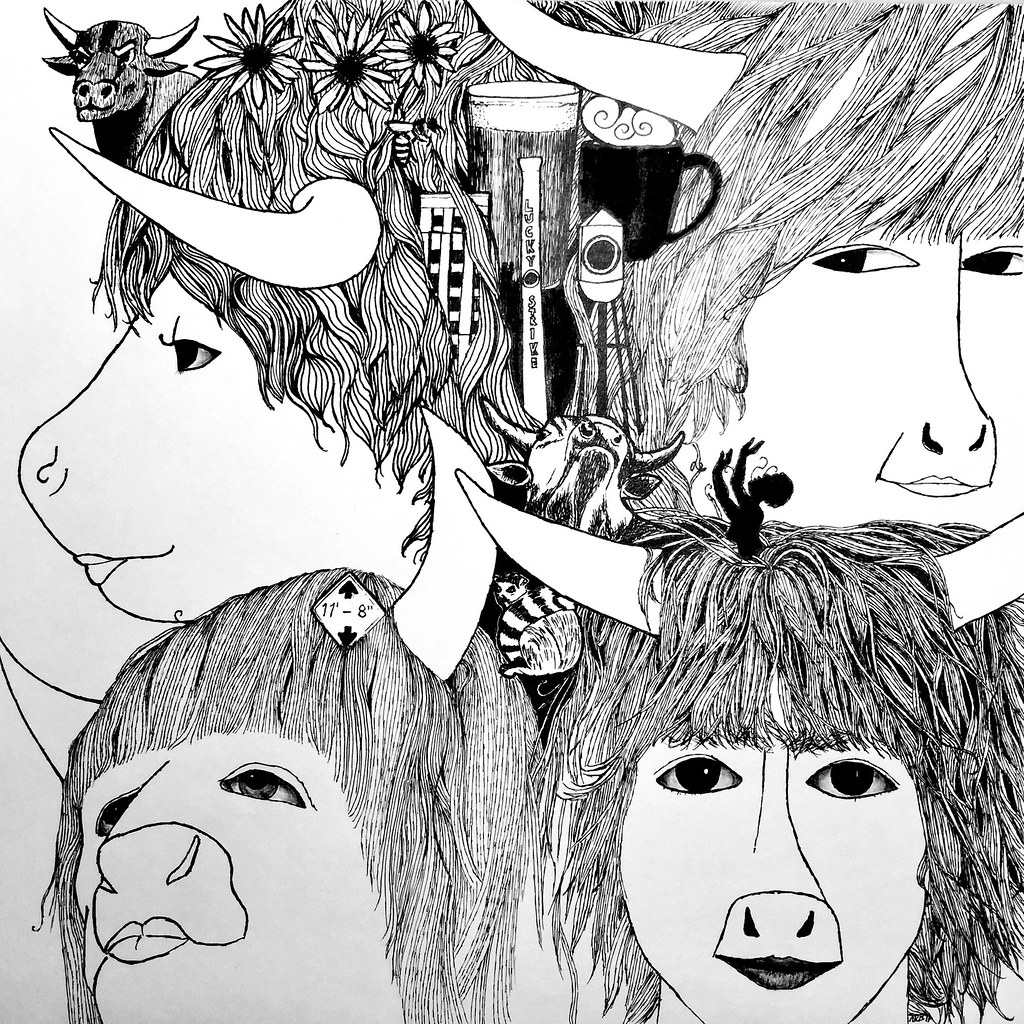 the world s best photos of beatles and drawing flickr hive mind Hive Server IP Mcpe i drew the beatles as bulls and added local durham images pletely hand drawn