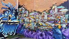 Putos, Mupz & Nor... (colourourcity) Tags: streetart streetartaustralia streetartnow streetartmelbourne graffiti graffitimelbourne melbourne burncity colourourcity colourourcitymelbourne fun notserious nohaters putos mupz nor nore bb acm artcrushmob