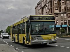 Castrosua Cs40 Scania 2318 de Urbanos de Santiago de Compostela. (Bus Box) Tags: autobus bus santiagodecompostela urbano transportepublico tussa tralusa castrosua monbus