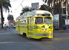 San Francisco, California (Jasperdo) Tags: sanfrancisco california embarcadero sfmuni vintagestreetcar streetcar trolley 1057
