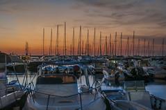 Tramonto sulla Marina (Nunzio Pascale) Tags: barche yachts yacht tramonto sunset velieri portoturistico foriodischia forio