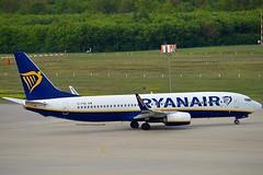 Ryanair EI-FOS Boeing 737-8AS Winglets cn/44727-5801 @ EDDK / CGN 02-05-2018 (Nabil Molinari Photography) Tags: ryanair eifos boeing 7378as winglets cn447275801 eddk cgn 02052018