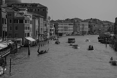 Typical traffic of Venice (brancatiarianna) Tags: venice italy outside travel street canal view pointofview place panorama photos bw sea boat gondole lights life love lover light feelinggood photo people nikkor lens nikon d5100 day dayoff venezia summer sunnyday see ponte beauty magic moments contrast city