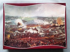 Waterloo box lid (pefkosmad) Tags: waddingtons scroll qualitex thebattleofwaterloo wheath vintage jigsaw puzzle hobby leisure pastime complete painting art secondhand used