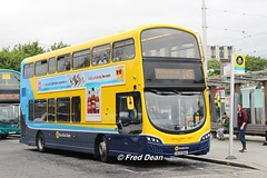 Dublin Bus SG15 (142D12040). (Fred Dean Jnr) Tags: dublin august2018 dublinbusyellowbluelivery dublinbus busathacliath dbrook volvo b5tl wright eclipse gemini heustonstationdublin dublinheustonstation dublinbusroute145 sg15 142d12040 gemini3 wrightbus