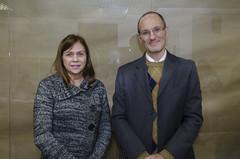 Professor Gracioso, VP Acadêmico da ESPM e Professora Elizabete Antonelli da ESPM.