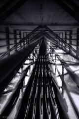 where to go? (sami kuosmanen) Tags: suomi sky summer finland kouvola koria travel dof dark creative art bridge silta abstract long europe exposure expression emotion eerie under light joki river kymi