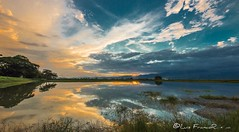 Atardecer y reflejos - Sunset and reflections-new2 (Luis FrancoR) Tags: atardeceryreflejossunsetandreflectionsnew2 atardecer sunset granatardecergreatsunset azul ngw ng ngc ngs ngd ngg colombia tulua reflejos reflections reflects