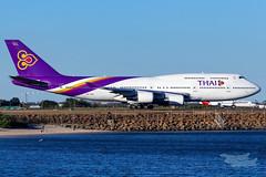HS-TGB TG B747 34L YSSY-4511 (A u s s i e P o m m) Tags: thai thaiairways tg boeing b747 syd yssy sydneyairport queenoftheskies mascot newsouthwales australia au