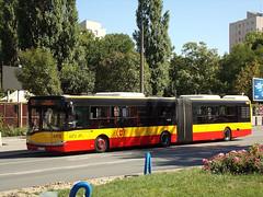 Solaris Urbino 18III, #8451, MZA Warszawa (transport131) Tags: bus autobus ztm warszawa wtp solaris urbino mza warsaw
