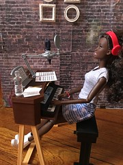 Making music (Bob in NY) Tags: articulated aa mattel