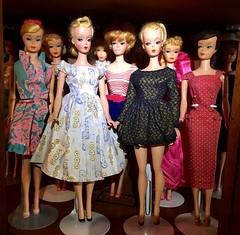 Front and Center (Visit My Dolls) Tags: doll dolls toy toys german bildlilli american barbie vintage fashion