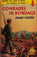 Arrow Books 423 M (Boy de Haas) Tags: vintage paperbacks vintagepaperbacks 1950s fifties sax burma siam railway ww2 wwii second world war