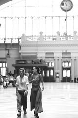 Travelers (sorn1200gs) Tags: streetphotography elmarit monochrom blackandwhite trainstation bangkok hualampong