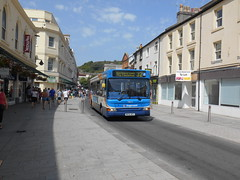 Stagecoach South West 34612 (Welsh Bus 18) Tags: stagecoach southwest transbus dart slf pointer 2 34612 nk04npy torquay fleetstreet b38f northeast