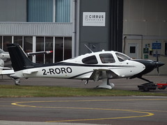2-RORO Cirrus SR22T (Private) (Aircaft @ Gloucestershire Airport By James) Tags: gloucestershire airport 2roro cirrus sr22t private egbj james lloyds