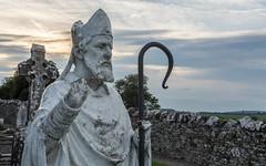 Hill of Slane (Ronan McCormick) Tags: ilobsterit canon ireland cemetry church graveyard hillofslane irelandsancienteast meath ruin saintpatrick slane stpatrick statue tower