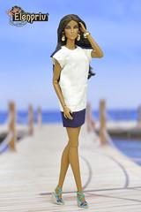"Seduisante Elyse Elise Jolie Doll in fashions from ""Sea Cruise"" collection by ELENPRIV (elenpriv) Tags: seduisanteelyseelisejolie doll fashions seacruise collection elenpriv elena peredreeva handmade dollclothes 12inch fashionroyalty jasonwu integrity toys"