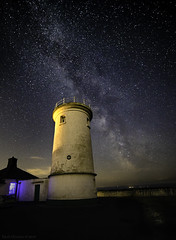 The other lighthouse (explored 17/8/18 #2) (MarkWaidson) Tags: nash point lighthouse milky way samyang 14mm astro stars
