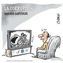 Nuevos capítulos (Caricaturascristian) Tags: en otro ministerio cerca de usted corrpci´n impunidad estado funcionario rd robo erario
