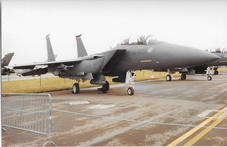 91-0313 McDonnell-Douglas F-15E Strike Eagle US Air Force