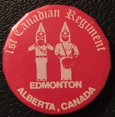 EDMONTON, 1st CANADIAN REGIMENT (woody1778a) Tags: edmonton edmontonhistory alberta canada pinback button history mycollection myhobby
