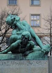 Prag - Denkmäler & Skulpturen - 10 (fotomänni) Tags: denkmal statue skulptur skulpturen sculpture prag praha prague manfredweis