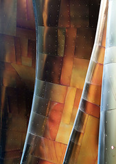 Metallic Drapery (studioferullo) Tags: abstract architecture art beauty bright building colorful colourful colors colours contrast dark design detail edge light metal minimalism outdoor outside perspective pattern pretty scene shadow study street texture tone weathered world museum gehry drapery curtain lines curve mopop seattle washington