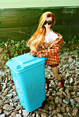 garbage (ShnoorC.) Tags: integrity toys fashion royalty poppy parker doll dollphotographer dollcollector barbie barbiedoll positivly plaid