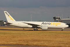 AeroLogic Boeing 777-FZN D-AALB EMA 24/07/18 (bhxflights) Tags: aerologic boeing boeing777 egnx eastmidlands eastmidlandsairport ema cargo freighter airport