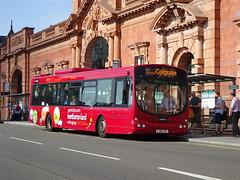 trent barton 744 Nottingham (Guy Arab UF) Tags: trent barton 744 fj09xpc volvo b7rle wright eclipse bus nottingham station nottinghamshire wellglade buses wellgladegroup