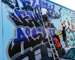 2018 Boogie Up The Block (Dennis Valente) Tags: 2018 streetarteverywhere usa muralist washington art contemporaryurbanart streetart seattle spraypaint urbanart artist 5dsr pnw aerosol muralart painting streetartistry mural