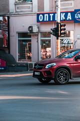 Mercedes GLE (Calin Sirbu) Tags: car bulgaria varna mercedes gle red coupe