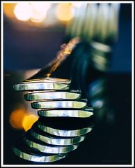 Fork handles (G. Postlethwaite esq.) Tags: canon40d canonefs60mmmacro dof lightroom macro viveza bokeh closeup cutlery depthoffield forks handles photoborder primelens selectivefocus stainlesssteel