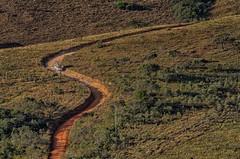 "Kombi no ""S"" do Senna rural (mcvmjr1971) Tags: vermelho baependi parque estadual da serra do papagaio minas gerais brasil nikon d7000 mmoraes viagem travel trilhandocomdidi campo area zona rural mineira sul carro kombi volkswagen perua"